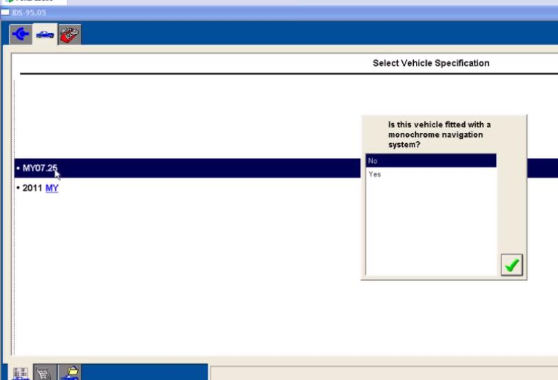 Ford IDS Configure Parameter for Ford Mondeo (3)