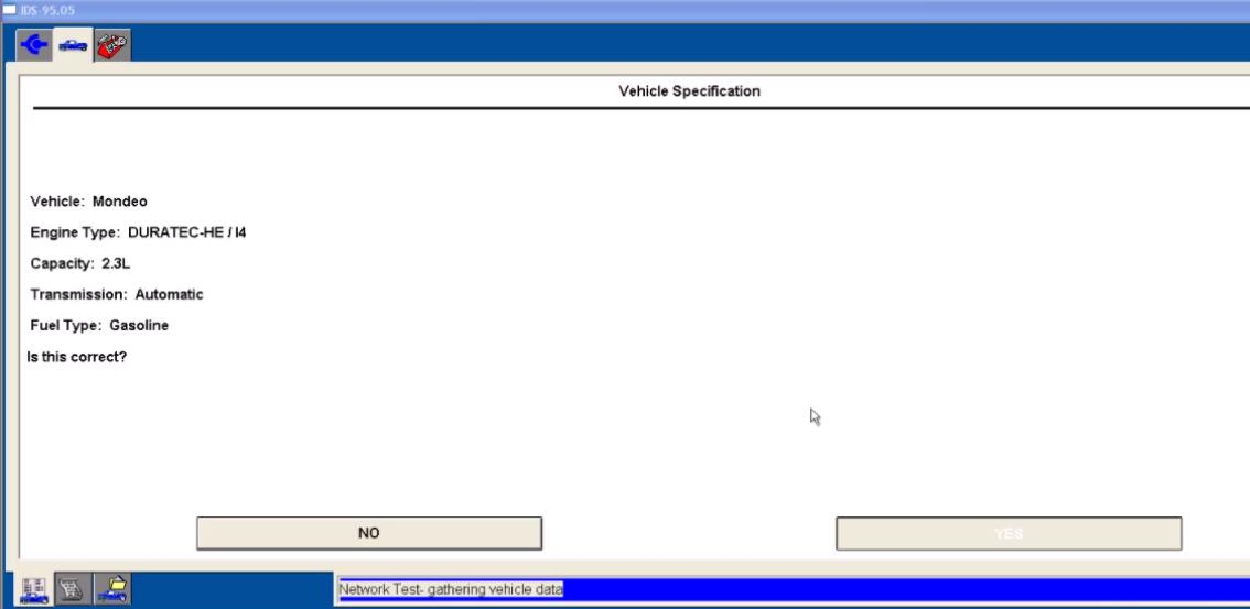 Ford IDS Configure Parameter for Ford Mondeo (4)