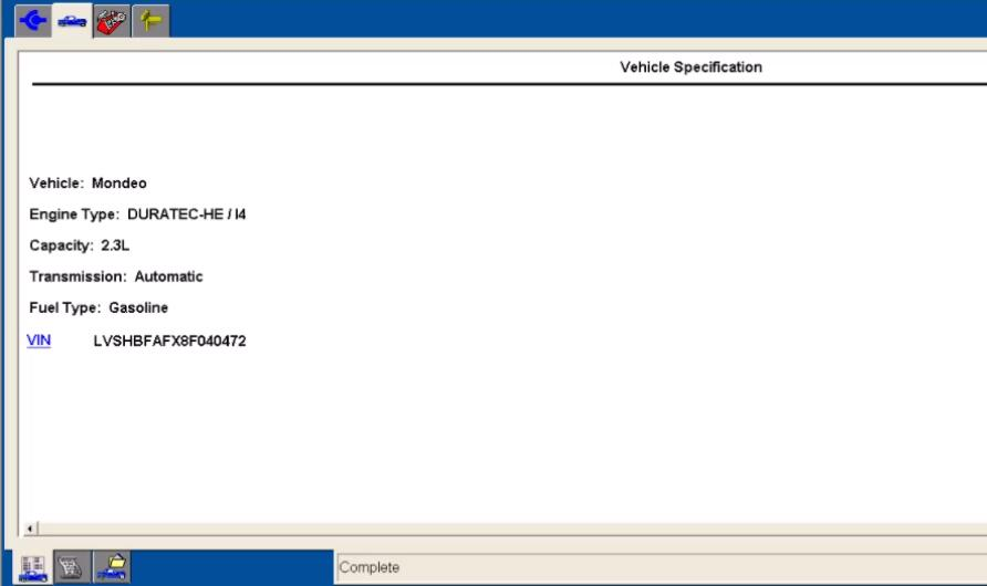 Ford IDS Configure Parameter for Ford Mondeo (5)