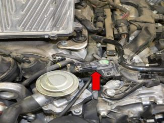 How to Replace MAP Sensor for Mercedes Benz (1)
