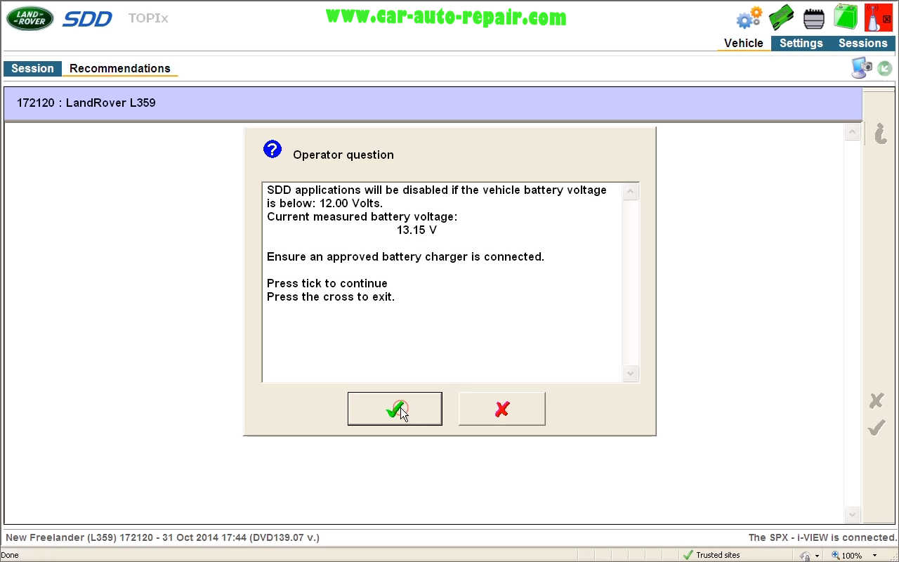 Reset Service Interval for Land Rover L359 by JLR SDD (11)
