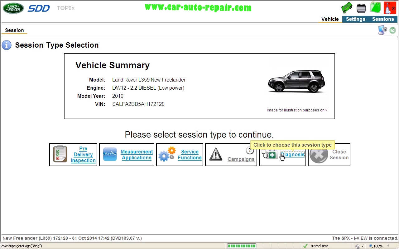 Reset Service Interval for Land Rover L359 by JLR SDD (4)