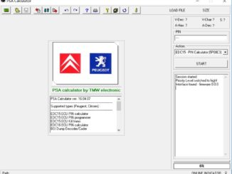 PSA Calculator 16.04.07 Free Download for Peugeot Citroen