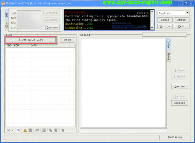 How to Use BMWAiCoder to Generate FSC Code for Navigation (1)