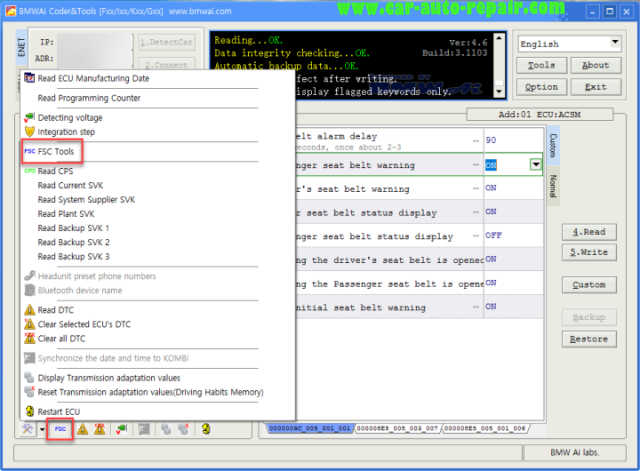 How to Use BMWAiCoder to Generate FSC Code for Navigation (2)