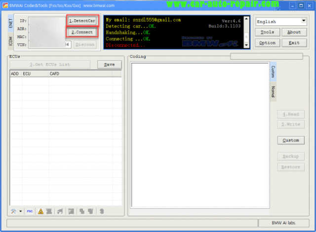 How to Use BMWAiCoder to Generate FSC Code for Navigation (4)