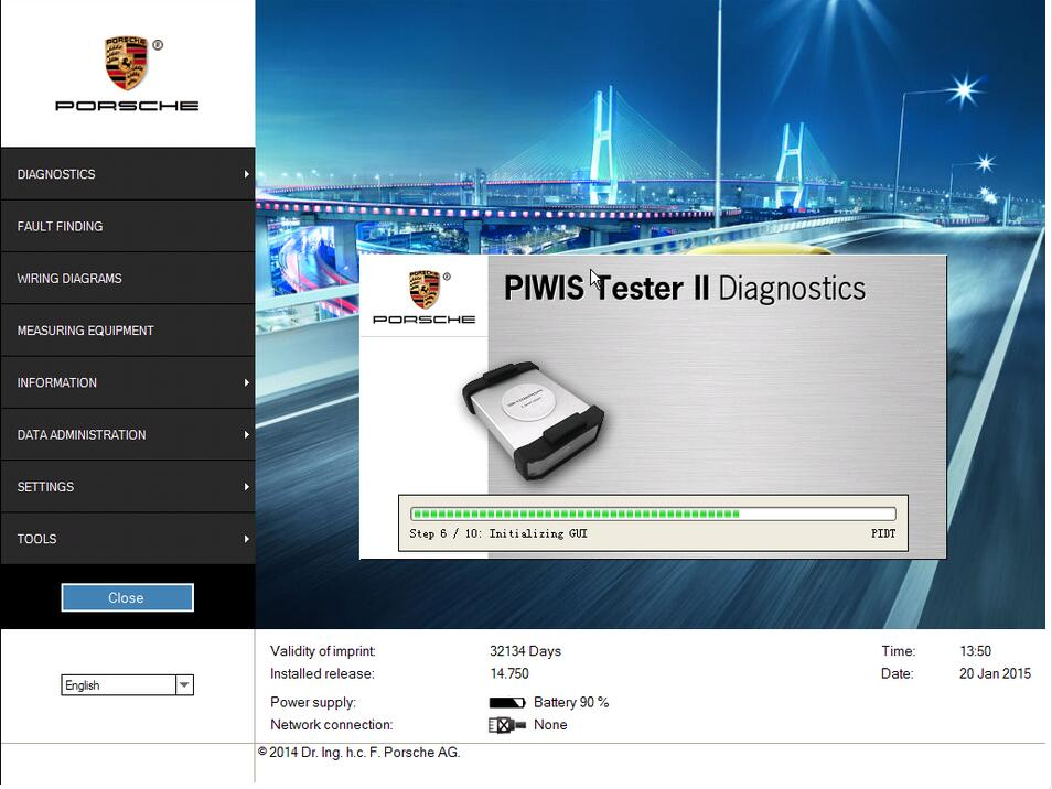 Porsche PIWIS II Diagnose Fornt-end Electronic & Instrument Cluster for Panamera (2)