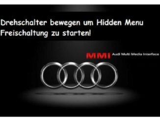How to Enable Audi MMI Emergency Update Firmware 900 And Later (2)