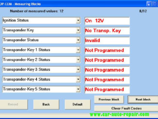 OPCOM Program Immobilizer Keys for Opel Guide (22)