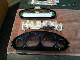 Remove and Disassemble Instrument Cluster for BMW Z3 (10)