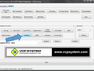 VCP System ECU Flasher Update Original ECUs (4)
