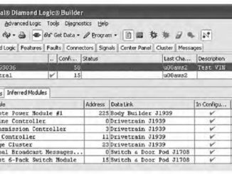 Diamond Logic® Builder Diagnose Read & Clear Fault Codes (5)