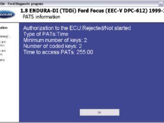 How to Use FCOM PATS Function for Key Programming (3)