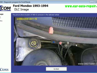 How to Use FCOM to Diagnose for Old Ford Mondeo 1993 (4)