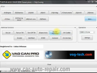 VCP Clear Inspection Service Massage for VW PQ35 46 Audi A3 A6 (1)
