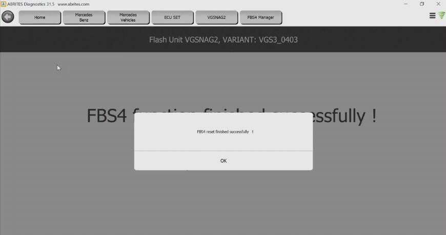 How to Renew Benz FBS4 VGSNAG2 TCU by AVDI Programmer (10)