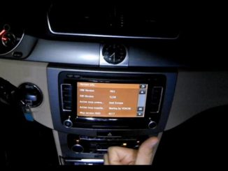 How to Update Volkswagen RNS510 Navigation Map (12)