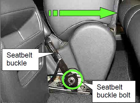 How-to-Install-Seatbelt-Buckle-Bracket-for-Nissan-Sentra-2013-4
