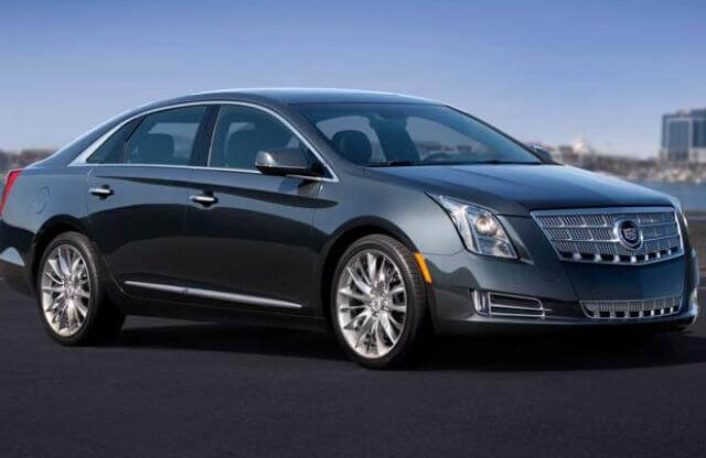 Cadillac-XTS-2013-Steering-Angle-Sensor-Calibration-by-Launch-X431-1