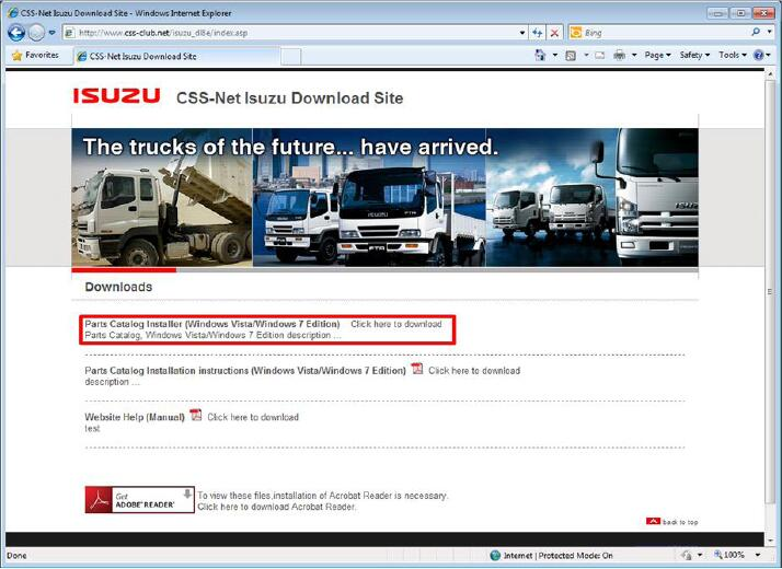 How-to-Install-Original-Isuzu-CSS-Net-Part-Catalog-Software-2