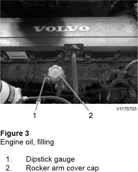 How-to-Change-Engine-Oil-Filter-for-Volvo-EC950E-Excavator-3