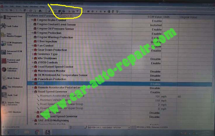 How-to-Use-Cummins-Insite-Change-Speed-Limit-for-CM871-ECM-5