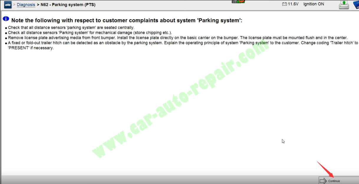 Benz-C204-Parking-Sensor-CodingCalibration-by-Benz-Xentry-7