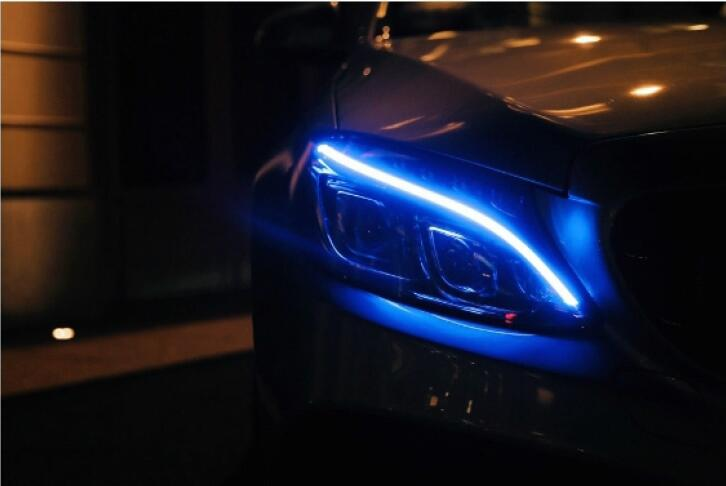 How-to-Change-Your-Benz-Daylight-Color-to-Blue-by-DTS-Monaco