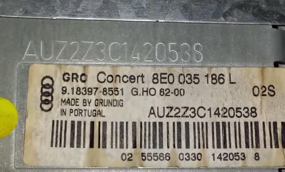 How-to-Decode-Audi-Concert-AUZ2Z3-GRUNDIG-Radio-24LC16-1