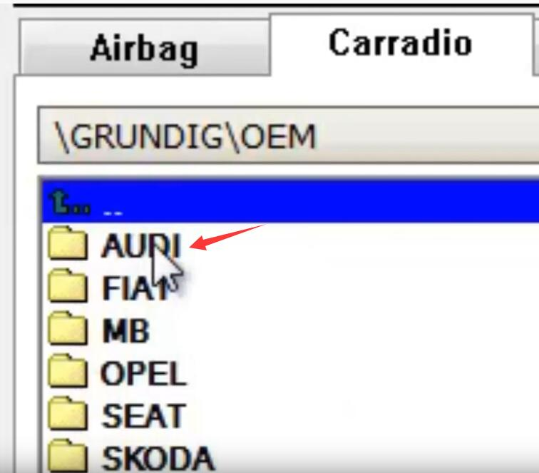 How-to-Decode-Audi-Concert-AUZ2Z3-GRUNDIG-Radio-24LC16-10