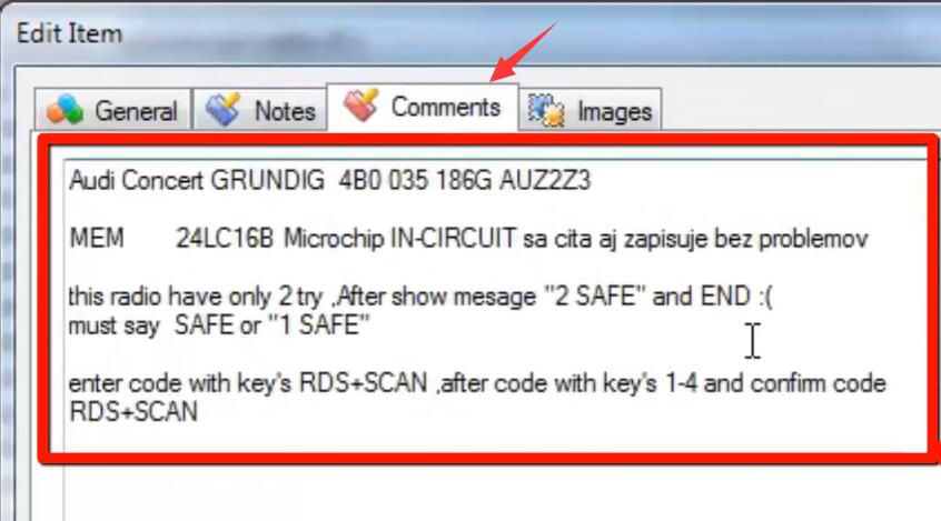 How-to-Decode-Audi-Concert-AUZ2Z3-GRUNDIG-Radio-24LC16-15