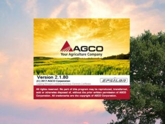 AGCO Agricultural All Database 2.1.80 2018 Free Download