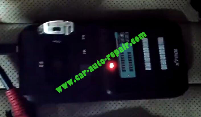 XTOOL-PAD3-KC501-Add-New-Infrared-Key-for-Benz-20