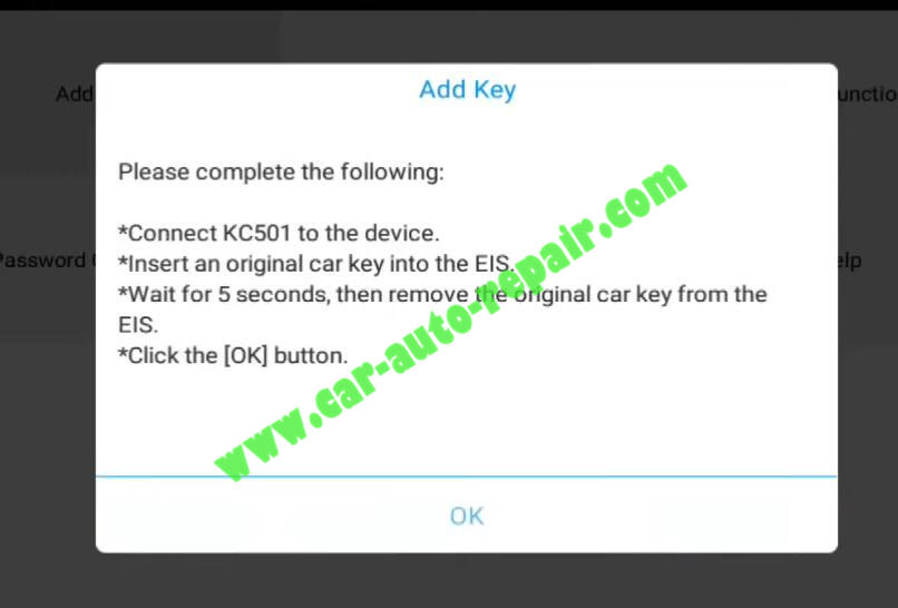XTOOL-PAD3-KC501-Add-New-Infrared-Key-for-Benz-6