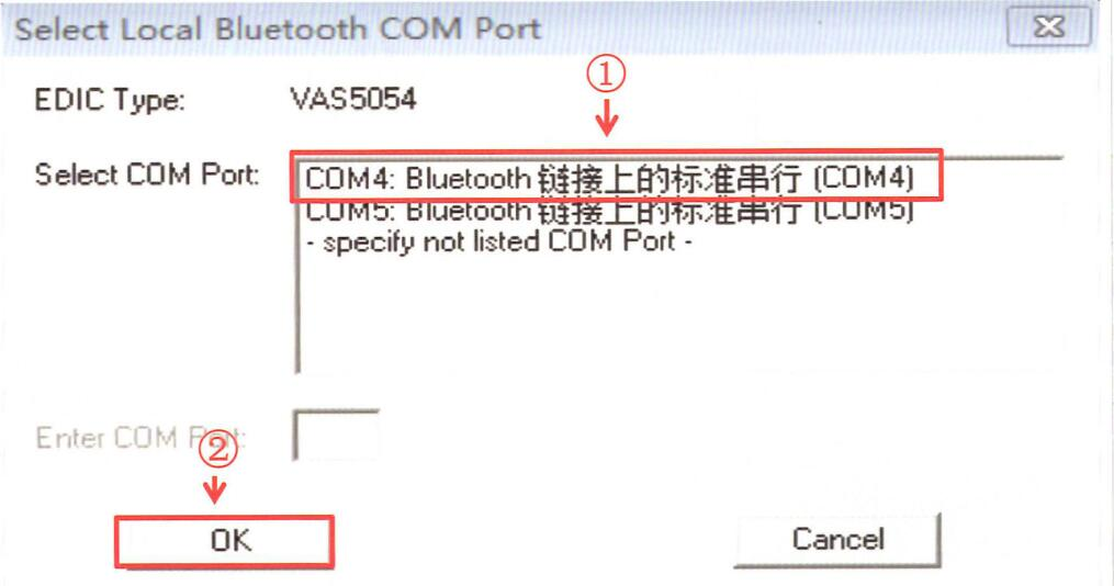 How-to-Connect-VAS5054-to-ODIS-Engineering-by-Bluetooth-7