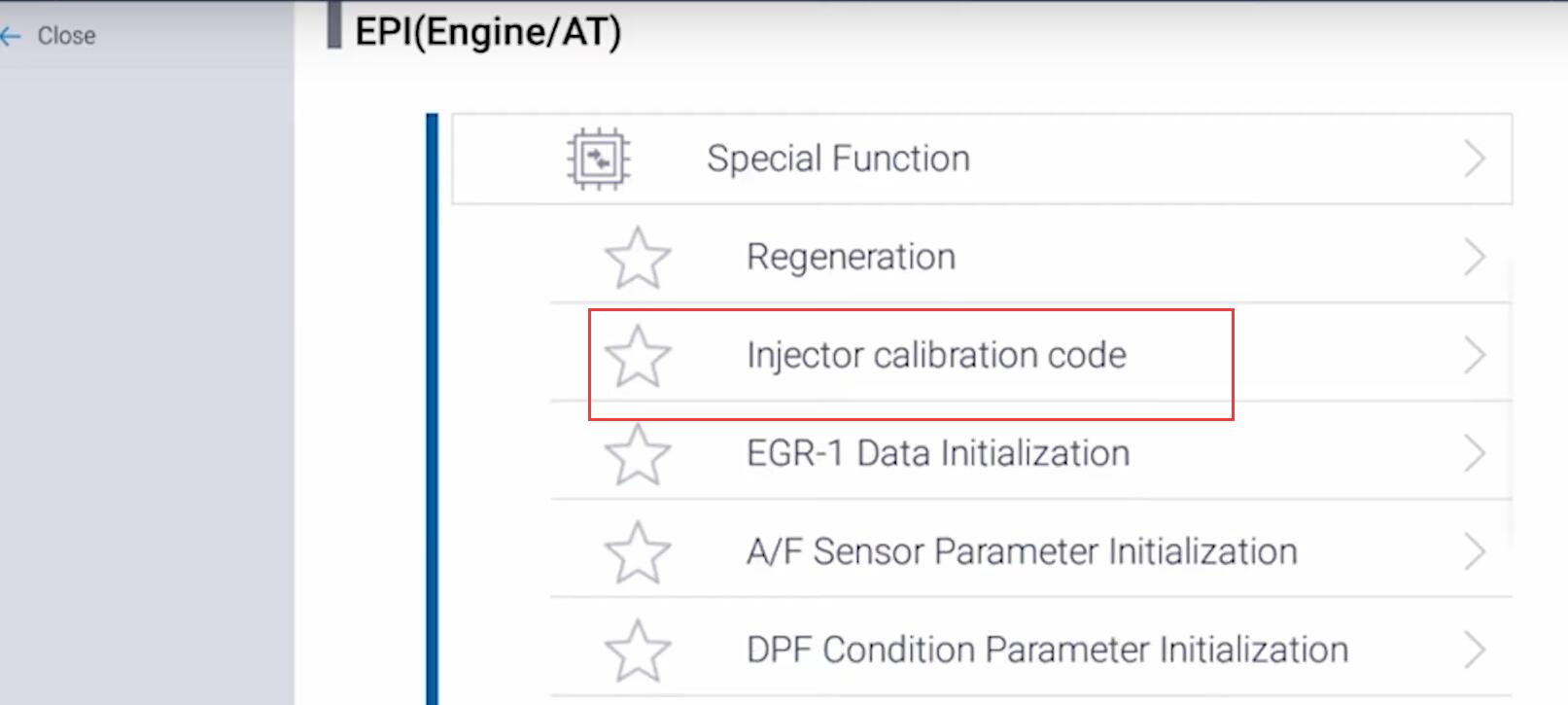 How-to-Do-Injector-Coding-by-G-scan-on-Suzuki-S-Cross-Vitara-with-D16A-Engine-7