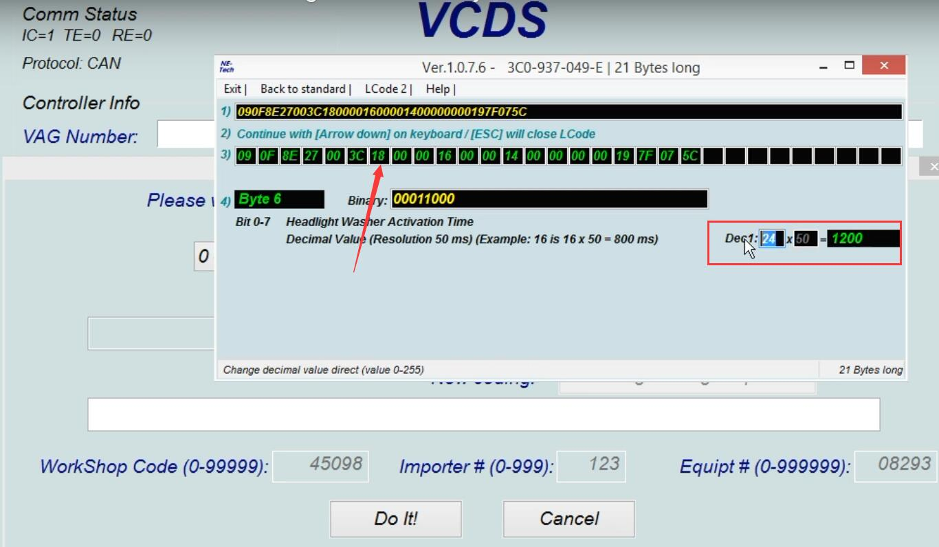 How-to-use-VCDS-delay-Headlight-Washer-for-VW-Golf-MK5-7