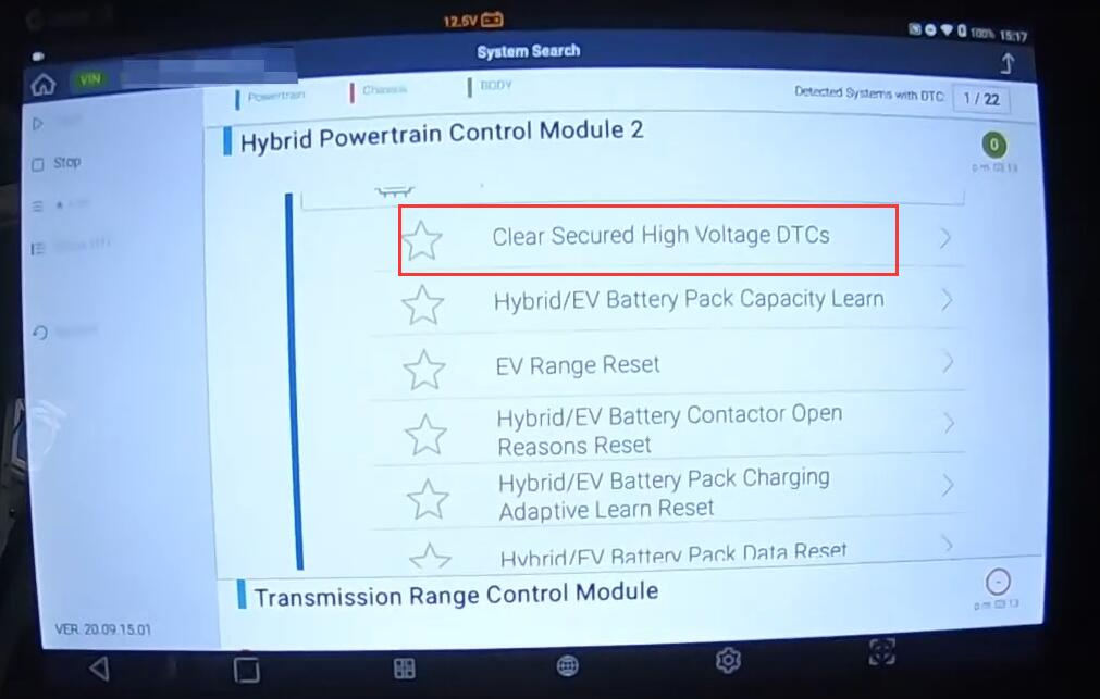 Clear-Secured-High-Voltage-DTCs-by-G-Scan-for-Chevrolet-Bolt-EV-8