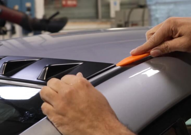 How-to-Remove-3M-Tape-Attached-Trim-Pieces-from-Subaru-2020-STI-4