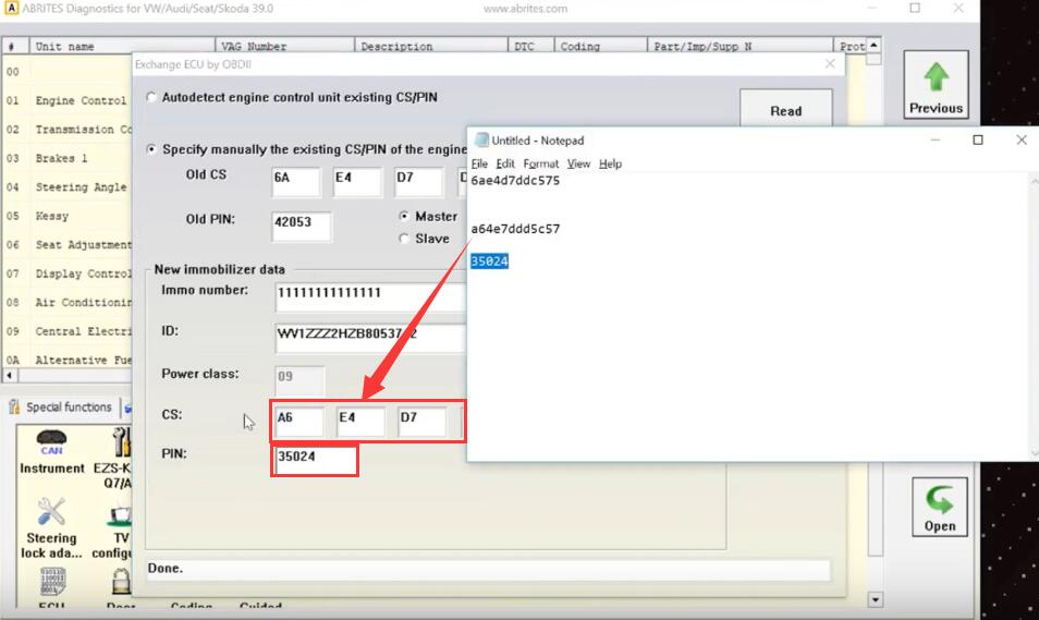 How-to-Change-the-PIN-and-CS-in-ECUs-and-TCUs-with-ABRITES-Diagnostics-for-VAG-15