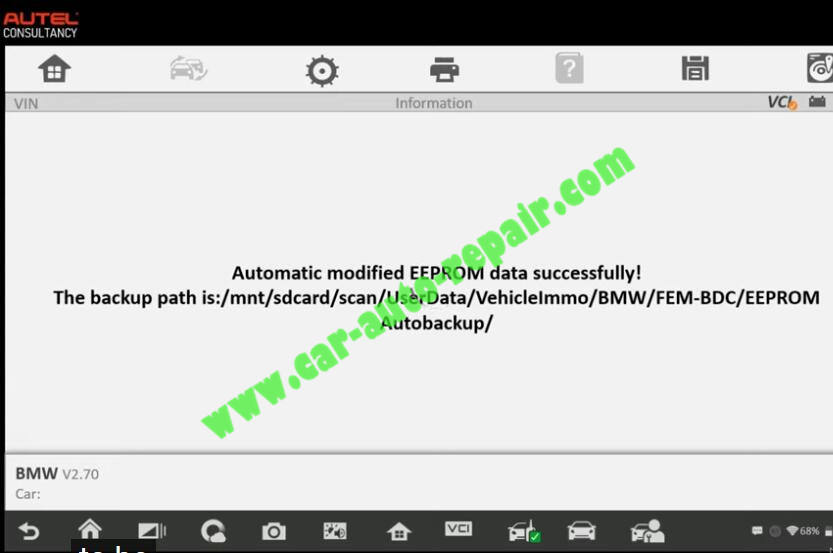 How-to-Use-Autel-IM608-to-Add-New-Key-for-BMW-320i-2013-13