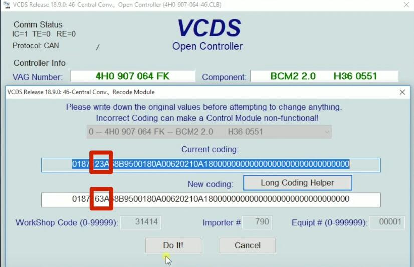 How-to-Active-Remote-Control-for-Windows-by-VCDS-on-2015-T3-Touareg-VW-6