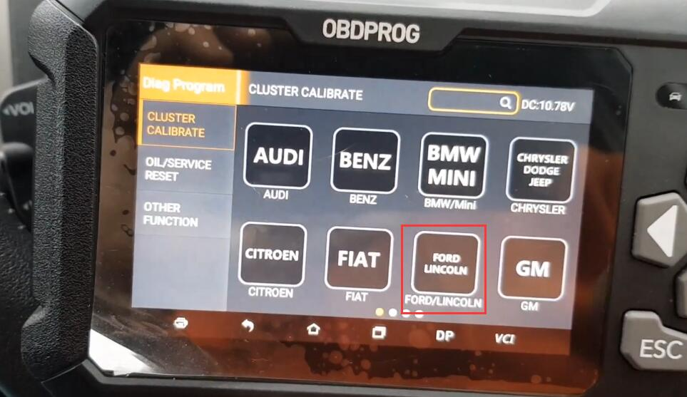 How-to-Correct-Mileage-with-OBDPROG-m500-Doctor-for-2010-Ford-Kuga-1