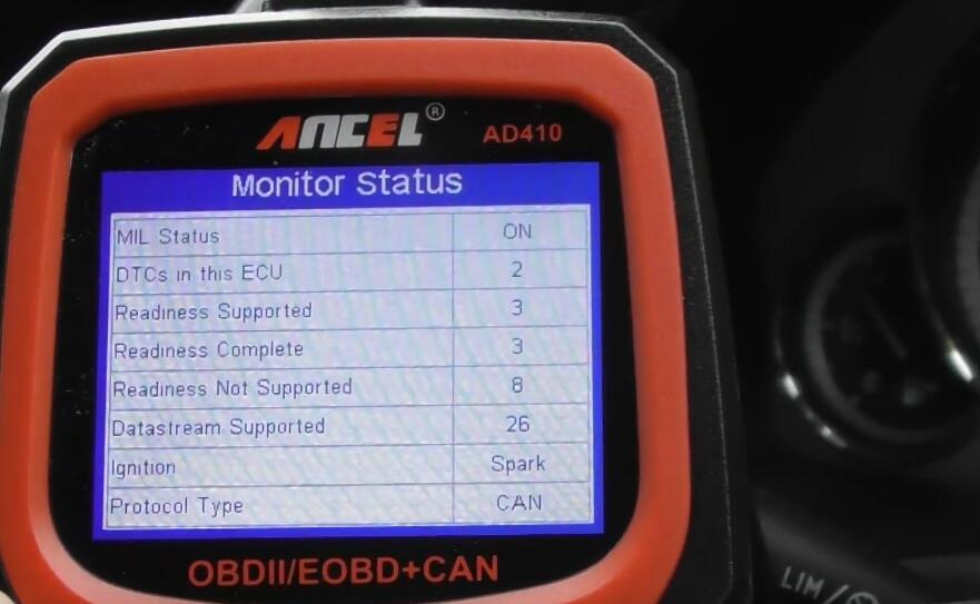 How-to-Diagnostic-Check-Engine-Light-by-Ancel-AD410-for-Benz-3