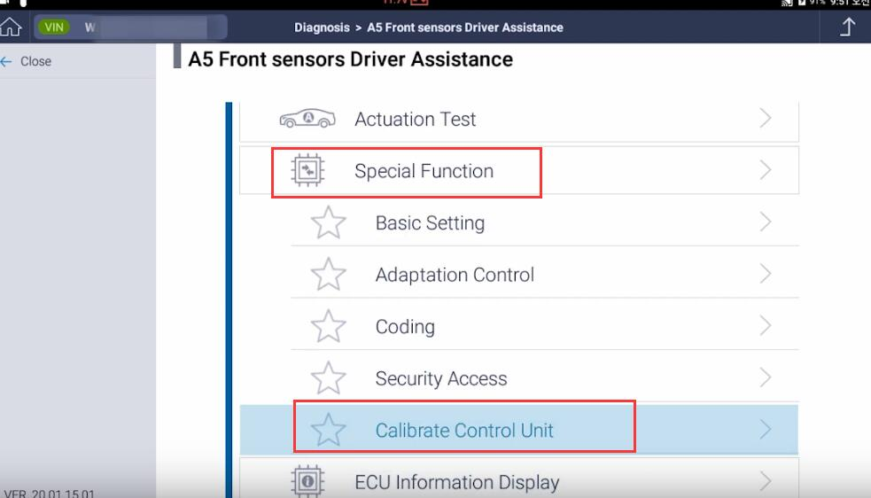 How-to-Do-Front-Camera-Calibration-with-G-scan-for-2018-Volkswagen-Atlas-13