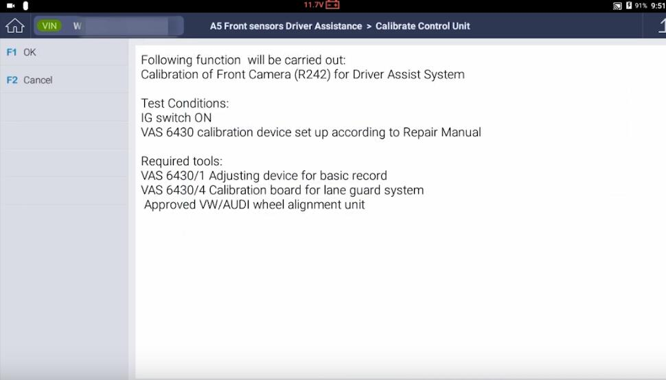 How-to-Do-Front-Camera-Calibration-with-G-scan-for-2018-Volkswagen-Atlas-14