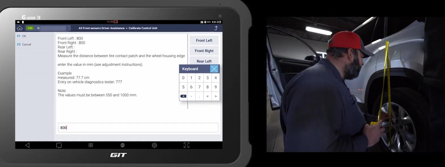How-to-Do-Front-Camera-Calibration-with-G-scan-for-2018-Volkswagen-Atlas-19