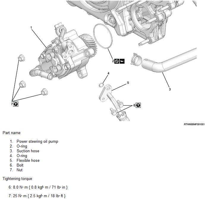 How-to-Remove-Power-Steering-Oil-Pump-for-ISUZU-4JJ3-1