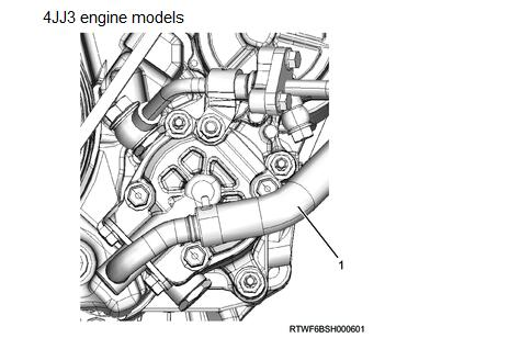 How-to-Remove-Power-Steering-Oil-Pump-for-ISUZU-4JJ3-5