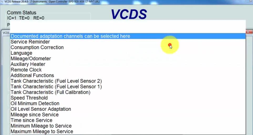 How-to-Reset-Service-Oil-by-VCDS-for-2004-Audi-A3-4